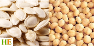 Health Benefits of Macadamia and Pumpkin seeds
