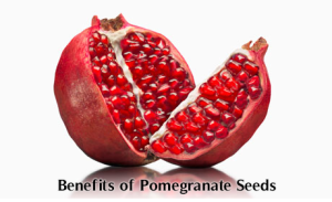 Health benefits of eating pomegranate seeds