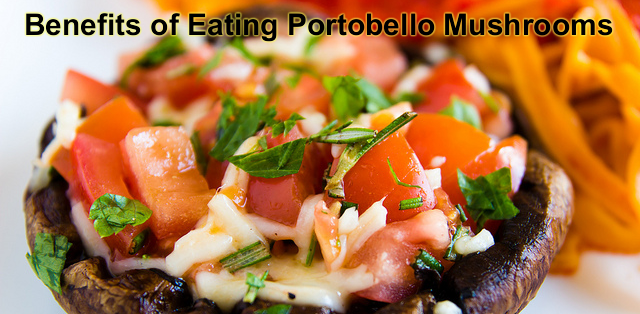 Health benefits of eating Portobello Mushrooms