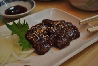 Beef Liver Sashimi